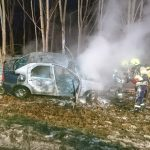 Ersthelfer retten Schwerverletzten nach Unfall aus brennendem Fahrzeug bei Weida