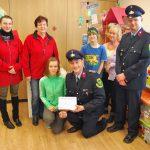 Freiwillige Feuerwehr sammelt Geld für krebskranke Kinder der UKJ-Kinderklinik