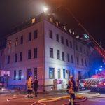 Feuerwehr musste Dachstuhlbrand in Weimar löschen