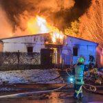 Mehrere verletzte Bewohner bei Brand in Apoldaer Obdachlosenunterkunft