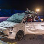 Unfall mit sechs Autos und neun Verletzten auf A4 bei Bucha
