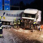 Zahlreiche Unfälle durch Schnee und Glätte auf den Thüringer Autobahnen