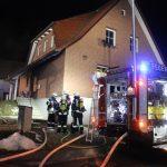 Kellerbrand in Heuthen hält Feuerwehr Heiligenstadt auf Trab