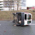 Zeugen gesucht: Verkehrsunfall mit drei Fahrzeugen in Jena