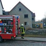 Bewohnerin nach Brand in Wohnhaus in Großenstein verletzt