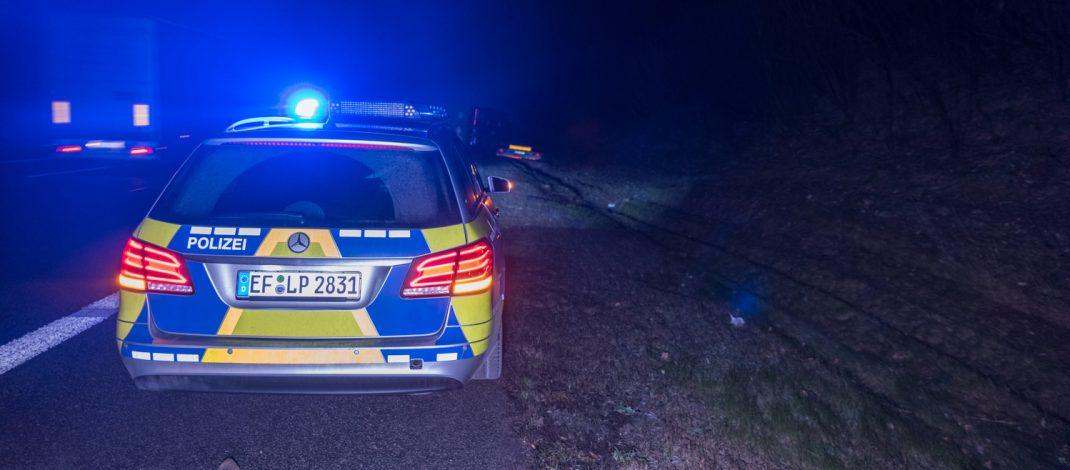 Laster auf der A9 bei Hermsdorf umgekippt – Sekundenschlaf ursächlich