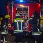 Brand  eines  Mehrfamilienhauses  in  Bürgel