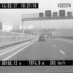 Teure Raserei: Mit 200 km/h bei erlaubten 80 km/h auf A4 bei Jena