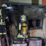 Zwei verletzte Personen nach Wohnhausbrand in Rohrbach