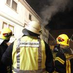Haustiere sterben bei Brand in einem Wohnhaus im Leinatal