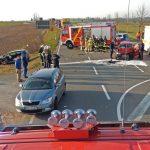 Zwei Schwerverletzte nach Vorfahrtsverstoß bei Schmölln