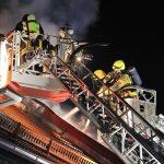 Reihenhaus nach Brand in Gräfinau-Angstedt unbewohnbar