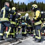 Tunnelbasiseinheiten trainierten zwei Tage an einem ICE
