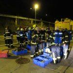 Praxisausbildung der Tunnelbasiseinheiten des Landkreises Gotha