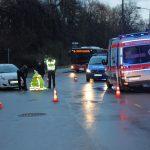 Radfahrerin in Weimar von Fahrzeug übersehen und schwer verletzt
