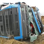 Mehr als 100.000 Euro Sachschaden nach LKW-Unfall auf A38 bei Nordhausen