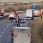 Mann auf A71 bei Erfurt von LKW erfasst und tödlich verletzt