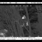 Polizeihubschrauberbesatzung findet vermissten Mann bei Jena