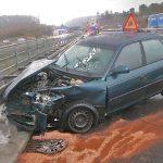 Drei Verletzte nach Unfall auf A71 bei Meiningen