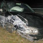 Frau nach Kollision mit Notrufsäule bei Ilmenau schwer verletzt