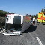 Zwei Verletzte nach Unfall auf der A73 bei Eisfeld