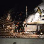 Hoher Sachschaden nach Brand in Einfamilienhaus bei Bad Liebenstein