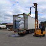 Illegaler Abfalltransport aus Italien auf der A9 bei Schleiz gestoppt