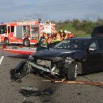 Zwei Unfälle innerhalb von 5 Minuten auf A4 bei Erfurt