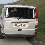 LKW erfasst Pannenfahrzeug auf der A71 bei Kühndorf