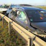 Stau nach drei Verkehrsunfällen auf der A9 bei Schleiz