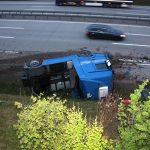 LKW-Fahrer schläft am Steuer auf A9 bei Triptis ein