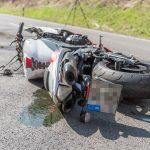 Motorradfahrer stirbt nach schwerem Unfall auf B87 im Weimarer Land