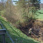 Ödland brannte zwischen Bad Berka und Blankenhain