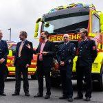 Udo Götze übergab neue Einsatzfahrzeuge an die Feuerwehr Suhl
