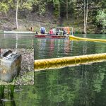 Unbekannte entsorgten alte Ölfässer in Waldsee bei Steinach
