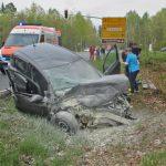 In Bus gekracht: 24-Jährige bei Hermsdorf lebensbedrohlich verletzt