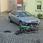 Junger Mopedfahrer missachtet Vorfahrt in Magdala und stürzt