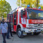 Freiwillige Feuerwehr Erfurt-Vieselbach bekam HLF20 feierlich übergeben