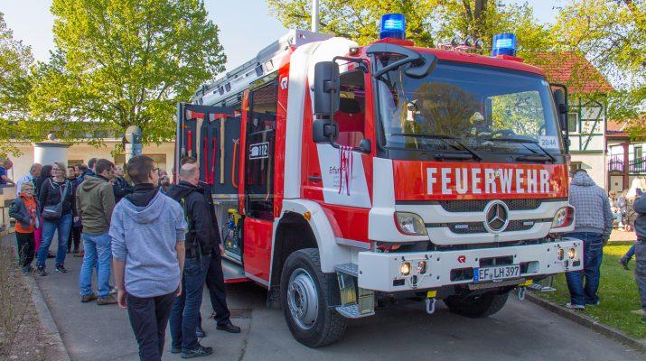 Freiwillige Feuerwehr Erfurt-Vieselbach bekam HLF20