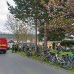 Zugseil gerissen: Maibaum stürzt bei Jena-Maua in Menschenmenge