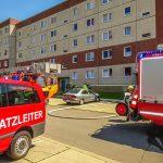 Brand im Küchenbereich einer Wohnung in Gera schnell gelöscht