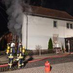 Wohnhaus in Vippachedelhausen durch Feuer zerstört