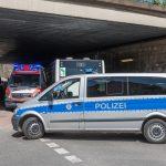 Rettungswagen verunfallt auf Einsatzfahrt in Weimar