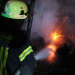 Nächtlicher Brandeinsatz für die Freiwillige Feuerwehr Heiligenstadt