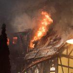 Wohnhaus in Gehren im Ilm-Kreis komplett niedergebrannt