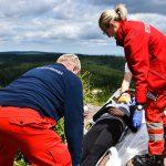 Hilfsorganisationen trainieren zum 7. Christoph 60-Tag in Oberhof