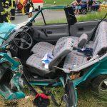 Junge Frau und 3-jähriges Kind nach Frontalcrash schwer verletzt