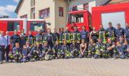 Frisch ausgebildet: Feuerwehranwärter bestehen Truppmannausbildung in Bad Berka