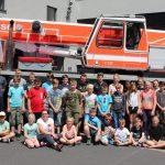 Heiligenstädter Jugendwehr besucht zum Zeltlager die BF Kassel