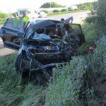 Fahrer nach Auffahrunfall auf A4 bei Stadtroda schwer verletzt